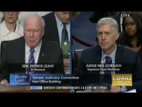 Disgruntled Senate Democrat's First Question Is About Judge Merrick Garland