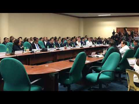 Senate Hearing on the Office of the Solicitor General