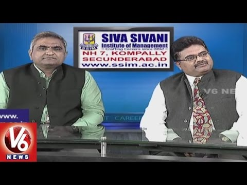 Career Point | PGDM & MBA Course | Siva Sivani Institute Of Management | V6 News