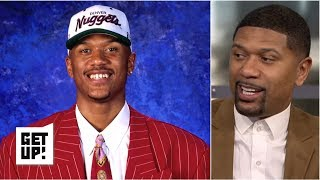 Jalen Rose reflects on being picked in the 1994 NBA draft | Get Up!