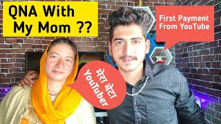 My Mom Reaction On My First Youtube Payment 🔥 Meet With My Mom | Himachal Wala