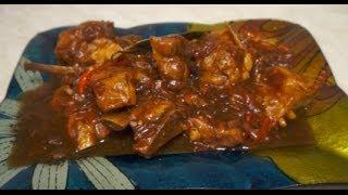 Adobong Buto Buto ng Baboy - Pork Ribs Recipe - Tagalog Pinoy Filipino cooking