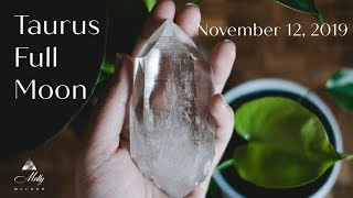 Nov 12 ✨ Taurus Full Moon 🌟 Amazing Developments And Higher Manifesting Powers