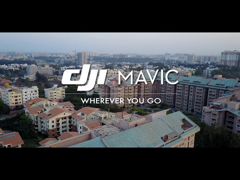 DJI Mavic Pro - First Flight - Bangalore, India