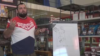 Семінар з коропової лові лектор Артем Колесников р Ставрополь 5 березня 2017 року