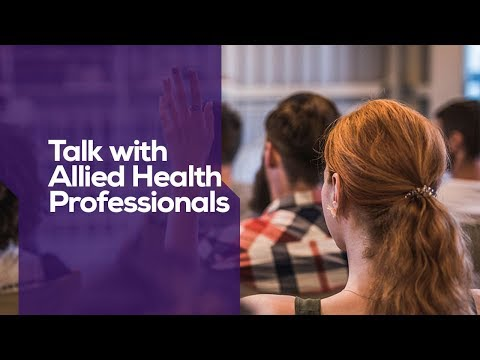 Talk with Allied Health Professionals