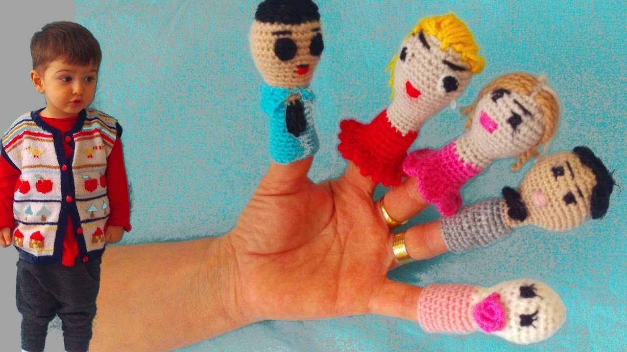 Parmak Ailesi Amigurumi | Family Finger Amigurumi