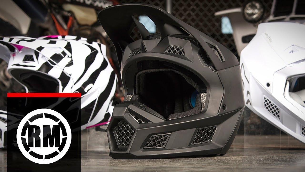 Fox V3 Helmet >> All New Fox Racing V3 Motocross Helmet