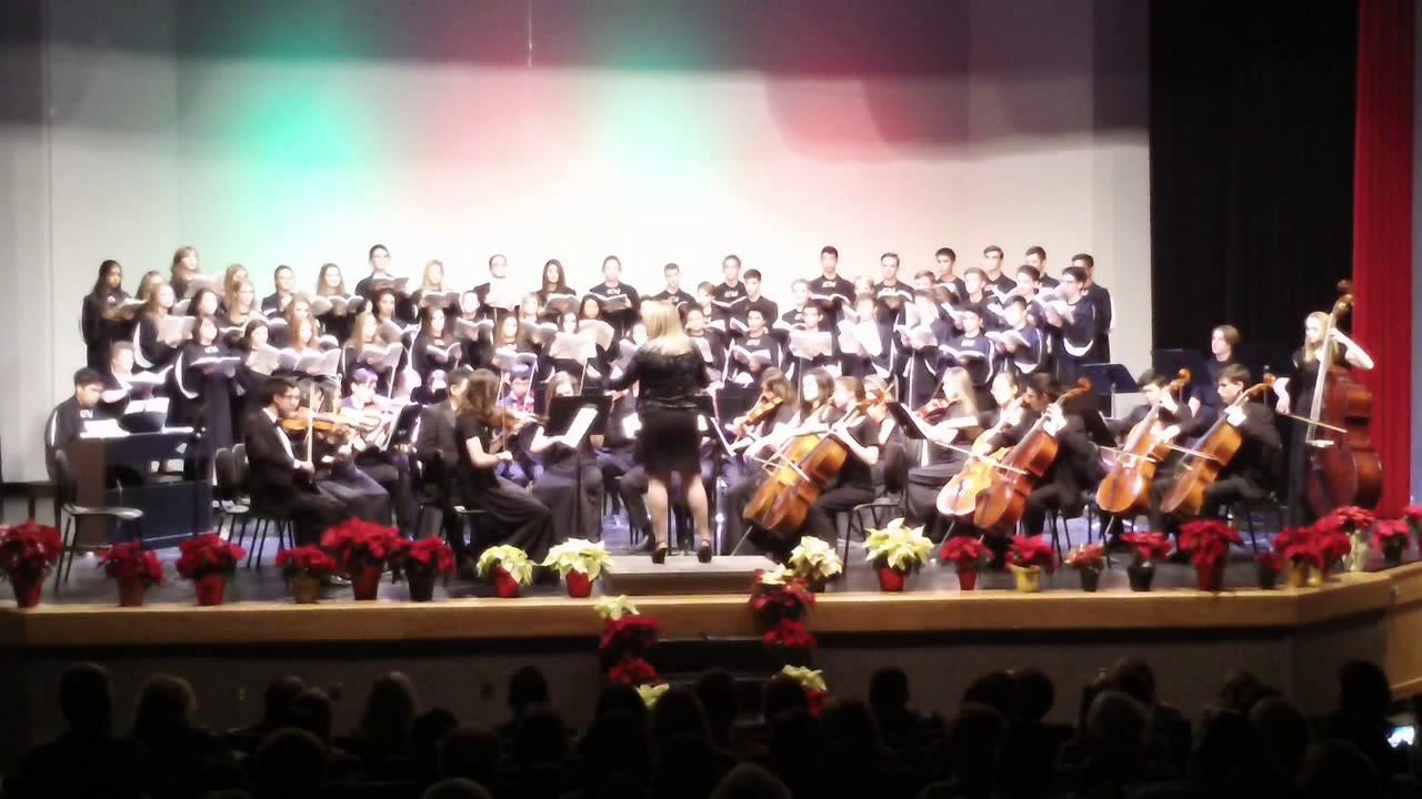 Exceptional La Cueva HS Camerata And Concert Choir