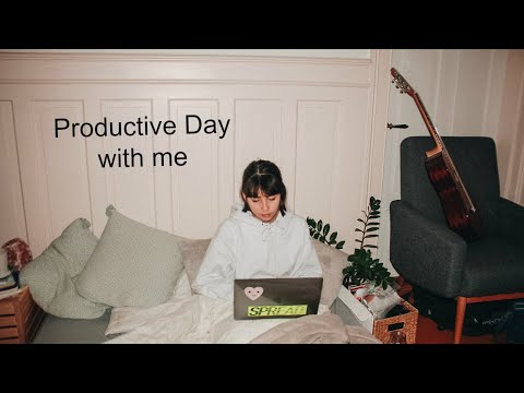 Productive Day with Me: 8 - 3am //VLOGMAS DAY 5
