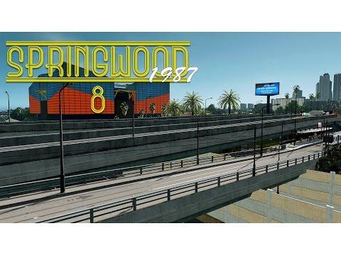 Cities Skylines: Springwood - Aquarium, Posh High School, Tram Stop (EP8)