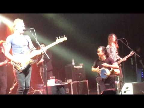 Impressie Concert Sting Live Mitsubishi Halle april 04-2017 Dusseldorf Düsseldorf Duitsland Germany