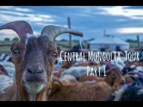 Trans Siberian Railway Trip 3rd class - Central Mongolia Tour Part 1