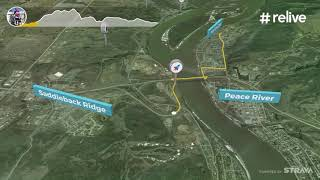 Relive! Peace River Westside expedition MTB
