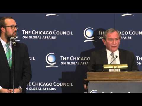 US-Strategie (auf deutsch) l George Friedman STRATFOR @ Chicago Council on Global Affairs
