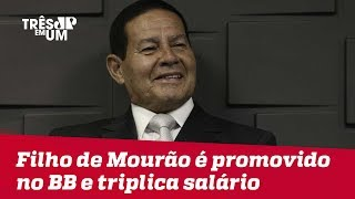 Filho de General Mourão é nomeado como assessor especial do presidente do Banco do Brasil