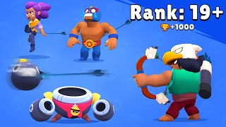 Rank 19+ Brawl Stars Funny Pose Bo vs Max Animation #6
