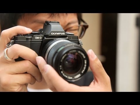 Olympus OM-D E-M5 Hands-on Review