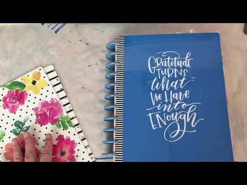 Debbies Journals using the Happy Planner as a journal - just my thoughts