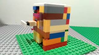 Lego stop motion. Candy machine.