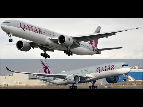 Comparing experiences on the no. 1 Airline in the world. Qatar Airways Business Cabins!