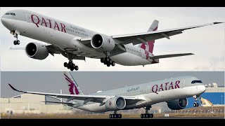 Comparing experiences on the 2019 SkyTrax Best Airline - Qatar Airways Business Cabins!