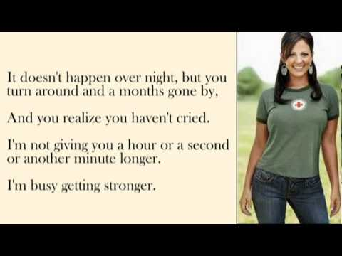 Sara Evans - A Little Bit Stronger Lyrics | MetroLyrics