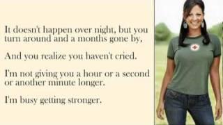 Sara Evans - A Little Bit Stronger with Lyrics
