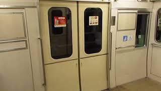 名鉄 3500系(3501F)ドア開閉