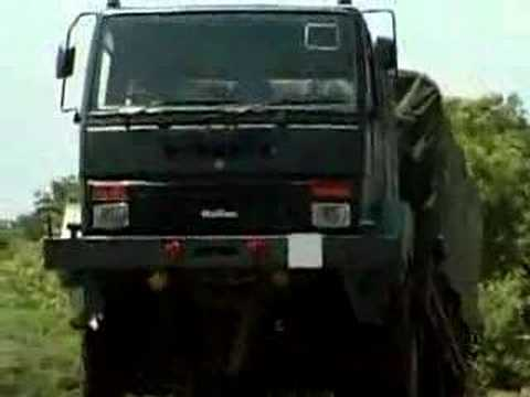 Indian Army Truck The Stallion From Ashok Leyland Youtube