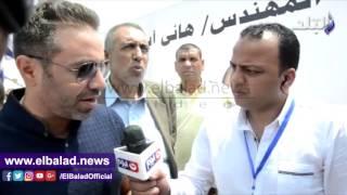 حازم إمام لـ«صدى البلد»: الإقبال على انتخابات الجبلاية «تاريخي».. فيديو وصور