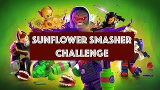 Lego DC Super Villains – Sunflower Smasher Challenge - Sunflowers Locations