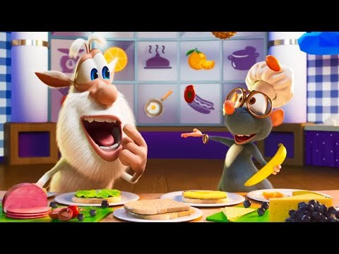 Cooking with Booba 🥪 Funny cartoons 🌮 Super ToonsTV
