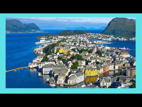 NORWAY, the spectacular architecture of Ålesund