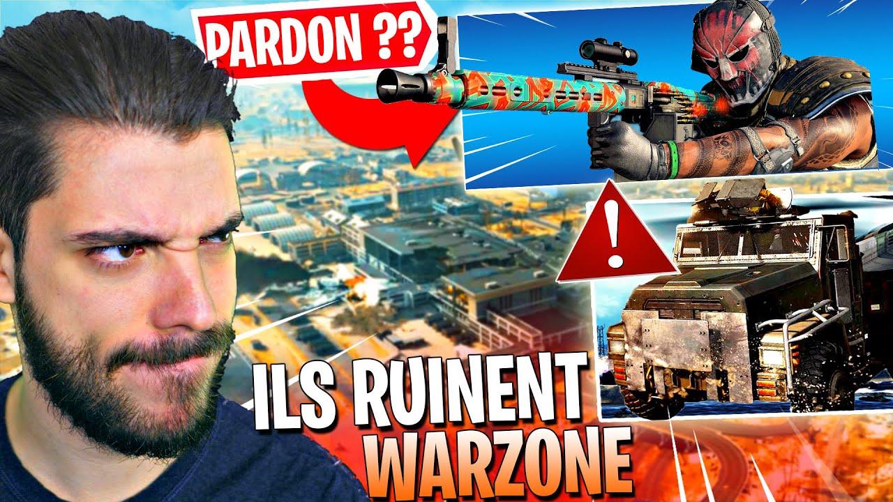 LA NOUVELLE SAISON A DETRUIT WARZONE ? - CES ARMES et VEHICULES RUINENT LE JEU ...