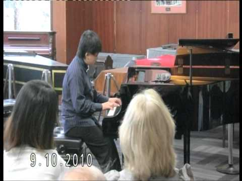 Chopin Ballade No.1 in G minor ( encore ) performs by Lawrence Ng ( 11 yrs old )