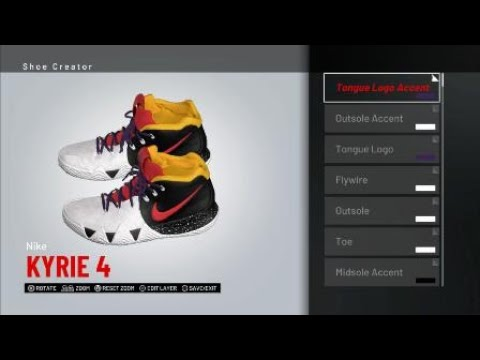 00ea4c9f69d Two Face Kyrie 4 for NBA 2K19 - YouTube