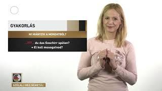 Szólalj meg! – németül, 2017. június 1.