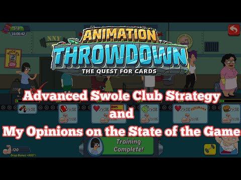 Animation Throwdown: Swole Club Challenge Strategy Updates and My Opinions on the State of the Game