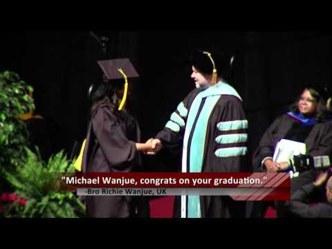 Northeastern University College of Professional Studies Commencement 2012