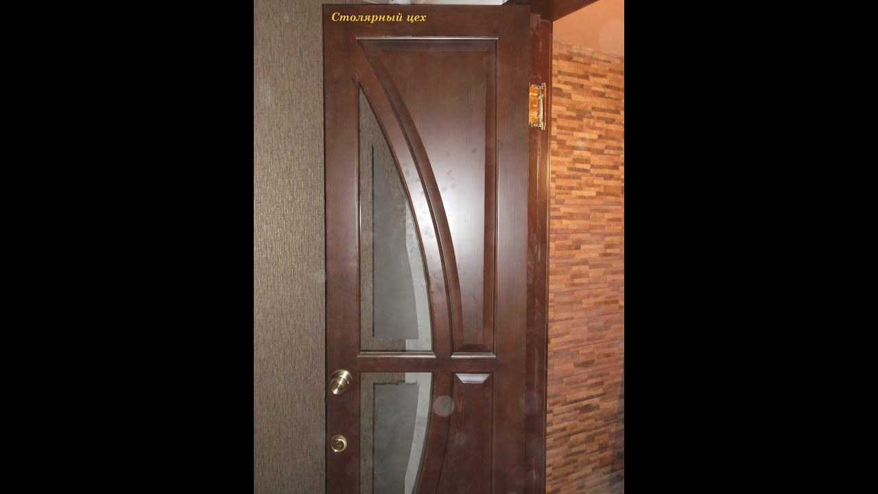 Двери межкомнатные. Двери из дуба, Двери для дома - YouTube