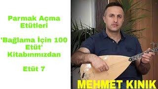 Mehmet KINIK - Uzun Sap Bağlama 4 Parmak Egzersizleri (Etüt 7)