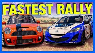 Forza Horizon 3 Online : THE FASTEST RALLY CAR!!