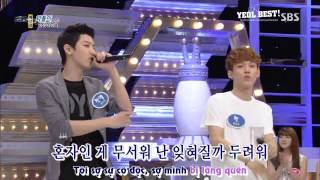[Vietsub] 130707 EXO ChanYeol   A Loner (Outsider) @1000 Song Challenge