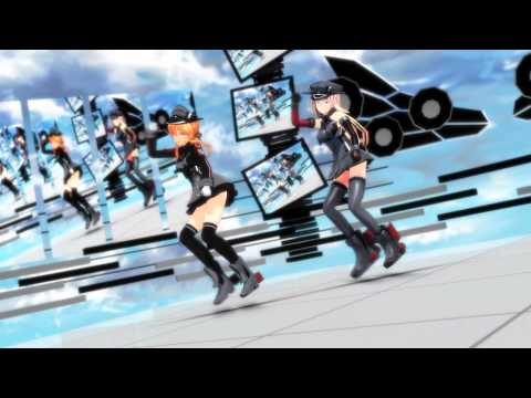 【MMD艦これ】 Prinz Eugen & Bismarck - shake it off