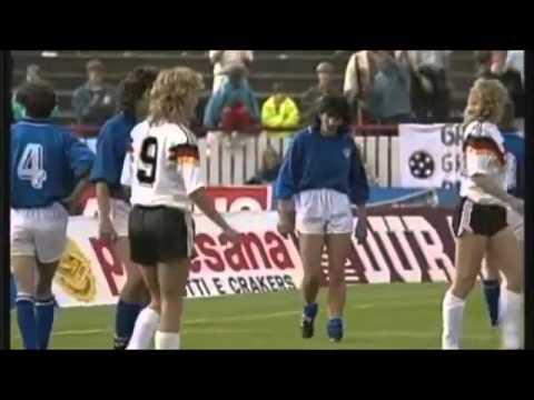 1980's European Women's Football ⚽ What the Hair