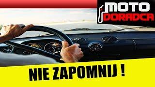 Kupiłeś? Sprzedałeś auto? O tym pamiętaj! #MOTODORADCA