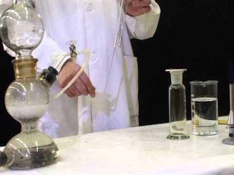 Взаимодействие хлора с водородом