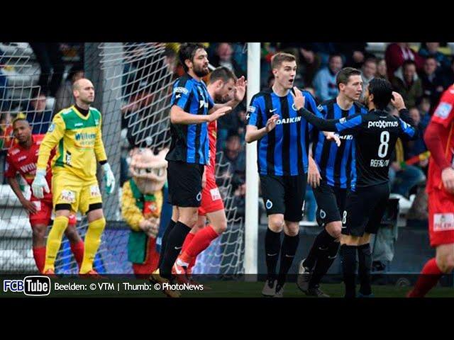 2015-2016 - Jupiler Pro League - PlayOff 1 - 01. KV Oostende - Club Brugge 0-1