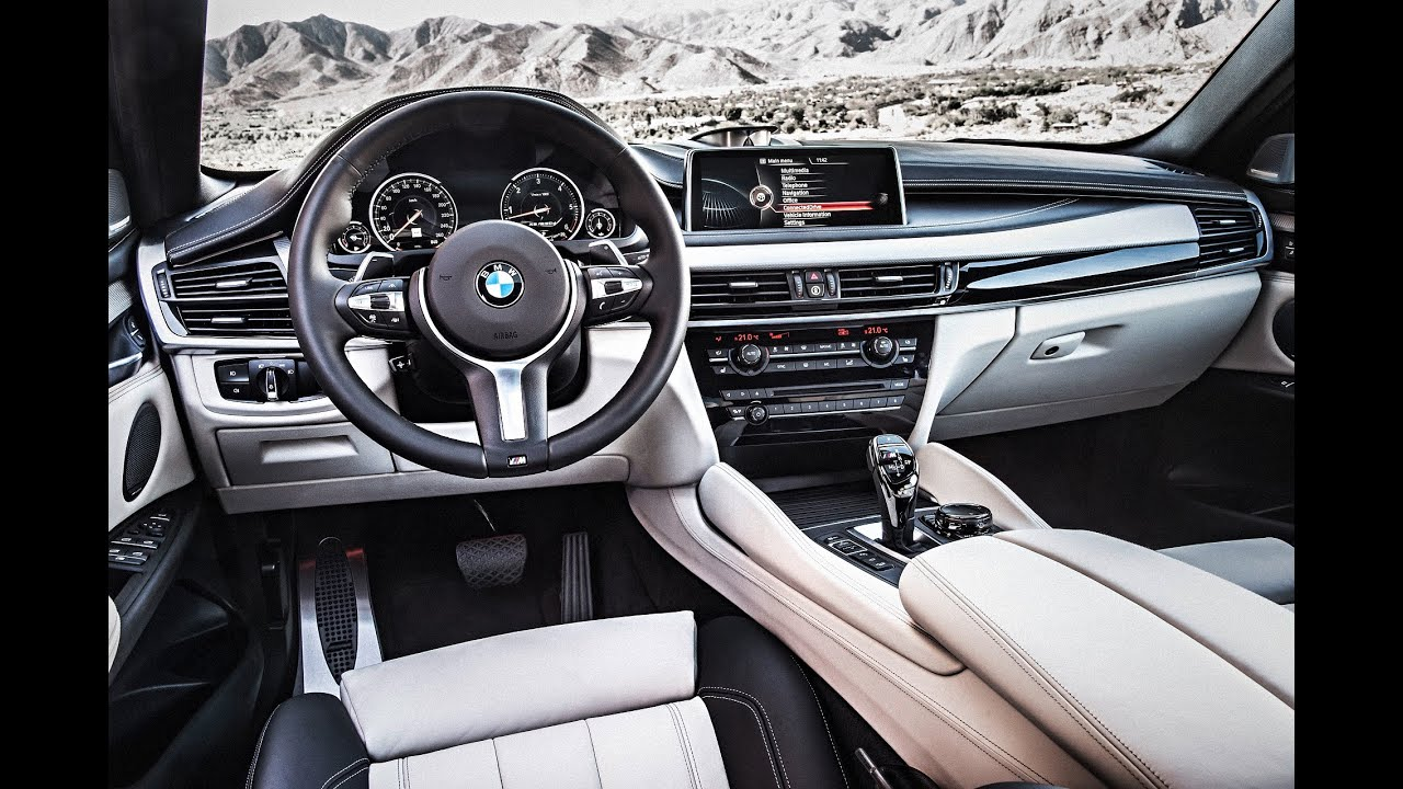Interieur X6 Bmw 2015 Bmw X6 M50d Interior And Engine